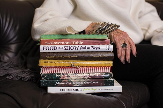 Sue Zelickson's entry into the food world happened after she started editing cookbooks for charity. Among them are her Minnesota Heritage cookbooks, which have helped raise more than $150,000 for the American Cancer Society.