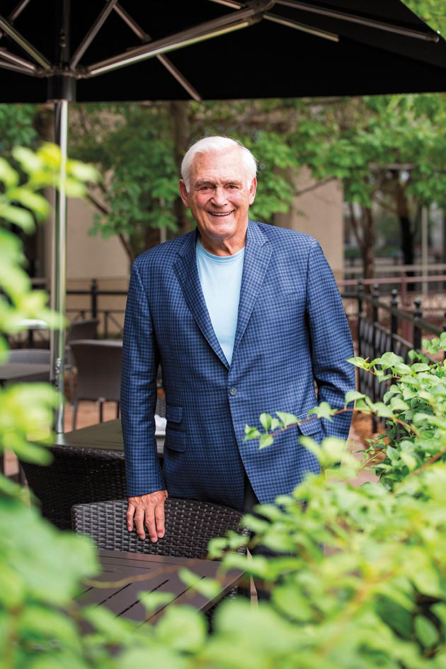 Lou Nanne's new fine-dining restaurant in Edina includes a 90-seat patio overlooking Centennial Lake.