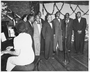 In 1950, the Wheatley Aires performed at the Wheatley House, which had become a recreational, educational and cultural gathering place for the African-American community in the Twin Cities. Photos courtesy of the Minnesota Historical Society