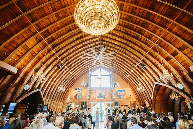 In 2013, Steve Schussler renovated a 1942 barn in Eden Prairie and turned it into Green Acres Event Center, now a popular event and wedding venue.