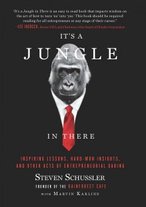All of the profits from Steve Schussler's It's a Jungle in There are donated to Smile Network International, a Minneapolis-based humanitarian nonprofit organization he helped found.