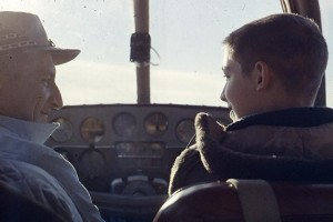 Longtime Northwest Airlines pilot Willy Kenmir taught his son, Ron, to fly, starting when he was 12 in a Beechcraft B-35 Bonanza (circa 1958).