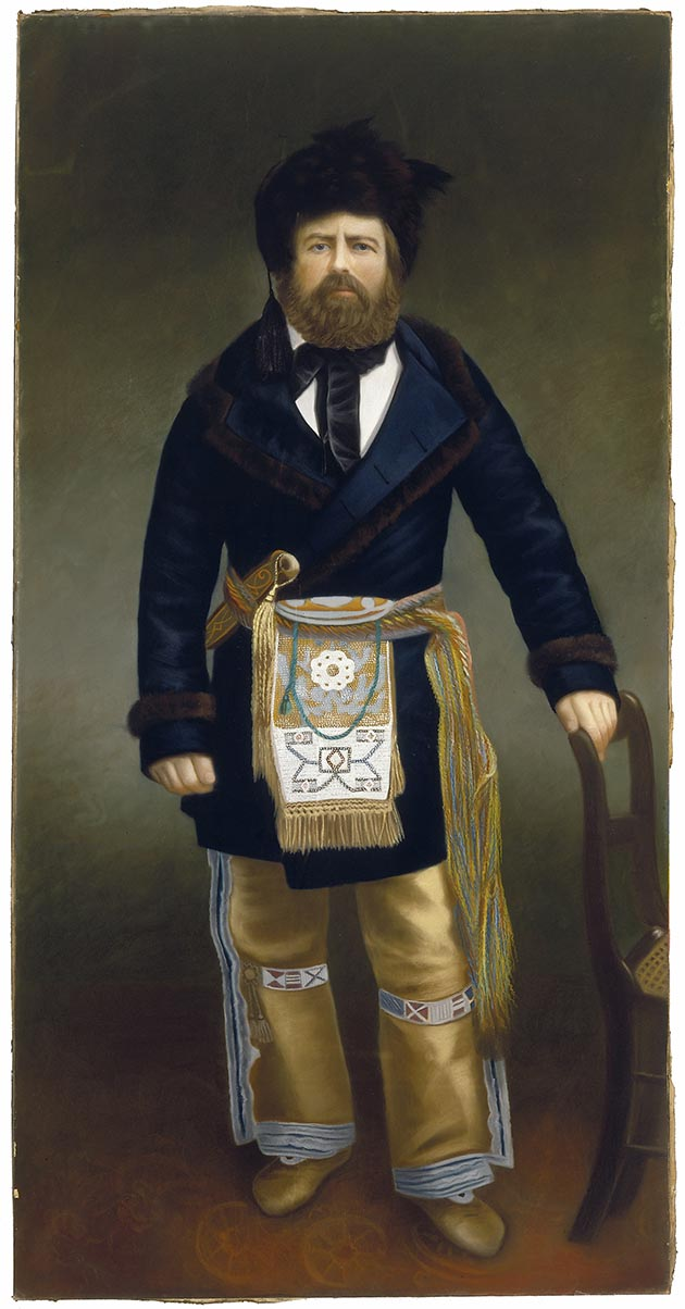 Rep. Joe Rolette, a fur trader and politician during Minnesota's highly partisan territorial era of the 1850s, purposely disappeared from the legislature with a bill to move the capital from St. Paul to St. Peter, thus preventing a vote before the session ended.