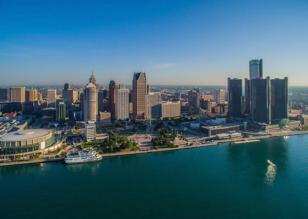 Detroit, a 1.5-hour flight or a 12-hour drive from the Twin Cities, has rebounded with gusto from the Great Recession.