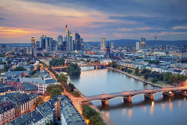 Though downtown Frankfurt is the commercial center of the country (if not all of Europe), the city's old town is a major attraction for tourists.