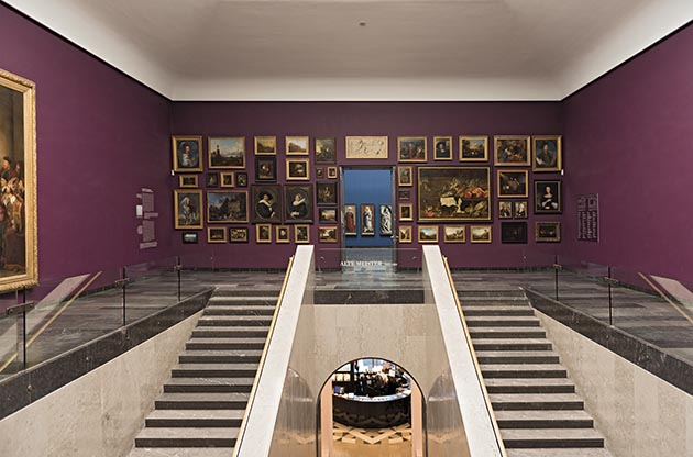 Paintings by masters are on display at the Städel Museum in Frankfurt, Germany. Photo by Rainer Lesniewski / Shutterstock.com