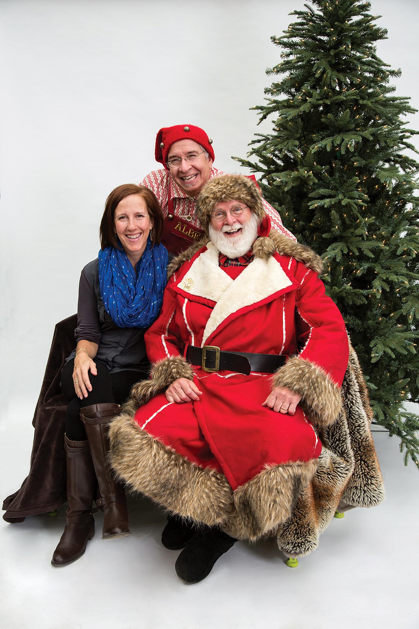 Sarah Jackson, Alfred and Santa