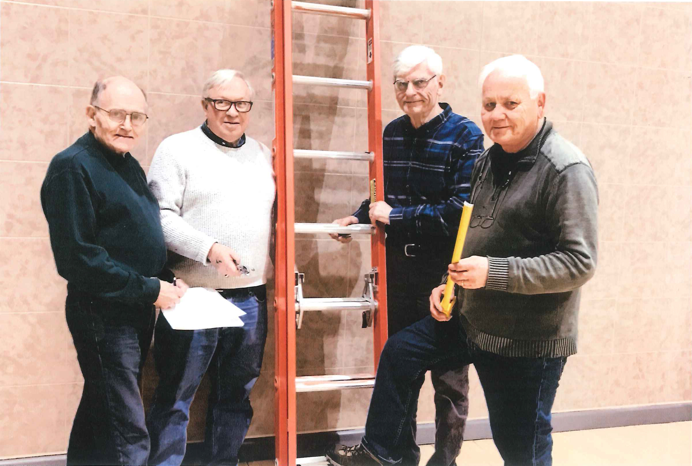 Members of Hopkins Area Men's Shed