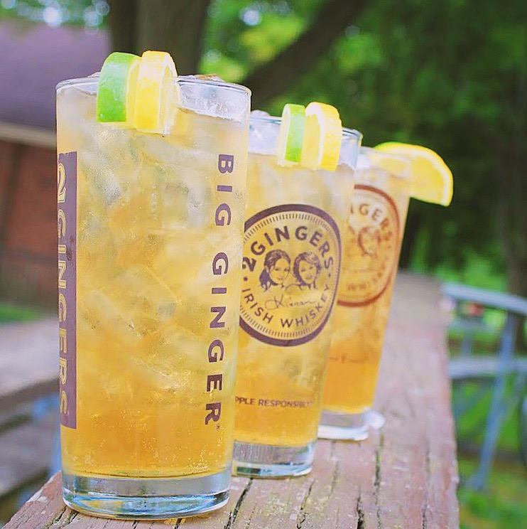 Big Ginger cocktails