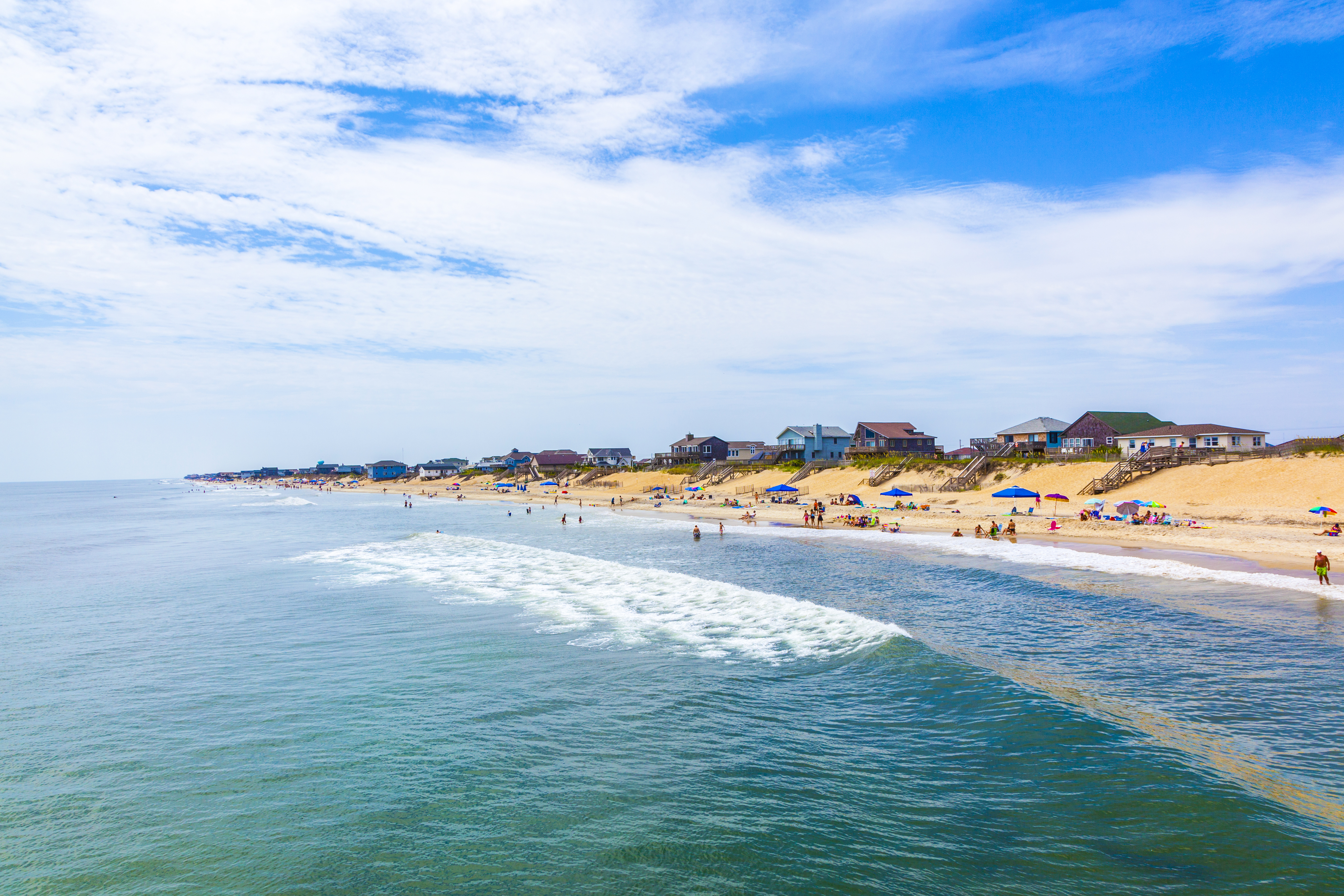 Nags Head N C Was Elished In The 1830s As Outer Banks First Tourist Destination Thanks To Its Gorgeous Sandy Beaches