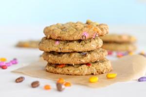 Sun butter oatmeal cookies