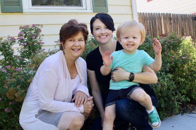 Nana, Mama and Kellan