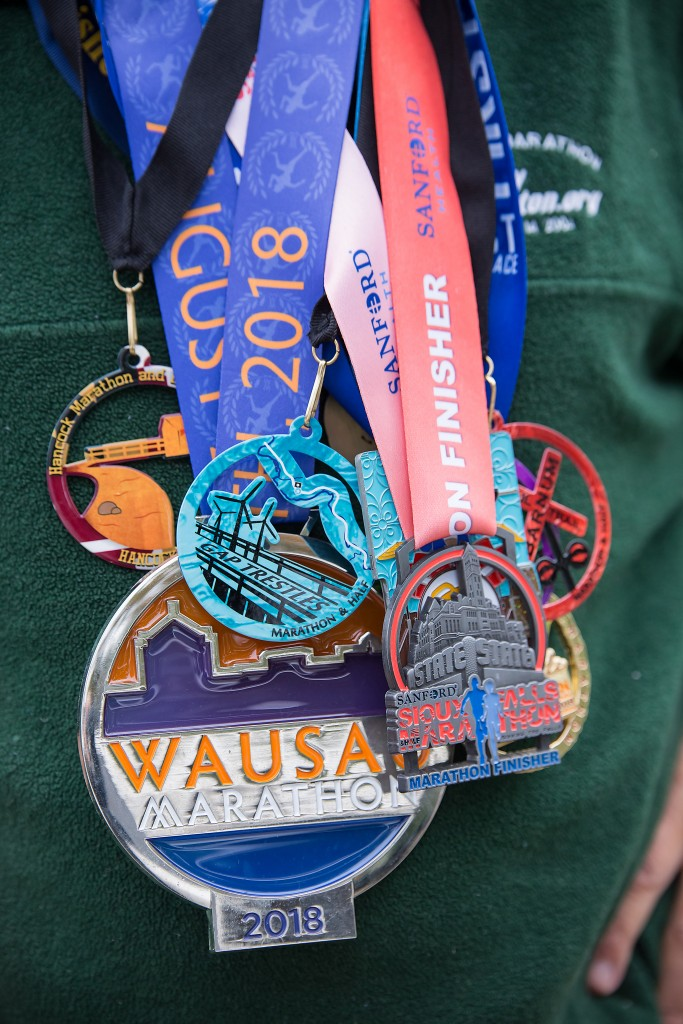 Frank Bartocci's medals. Photo by Tracy Walsh