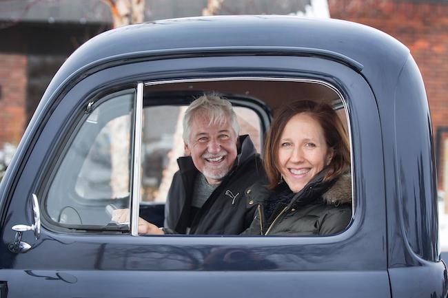 Dan Stoltz and Sarah Jackson