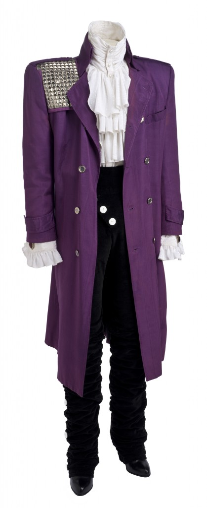 Prince suit worn in the movie Purple Rain