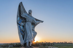 Dignity, a 50-foot statue