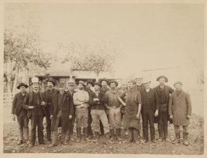 The men of Forestville, Minnesota